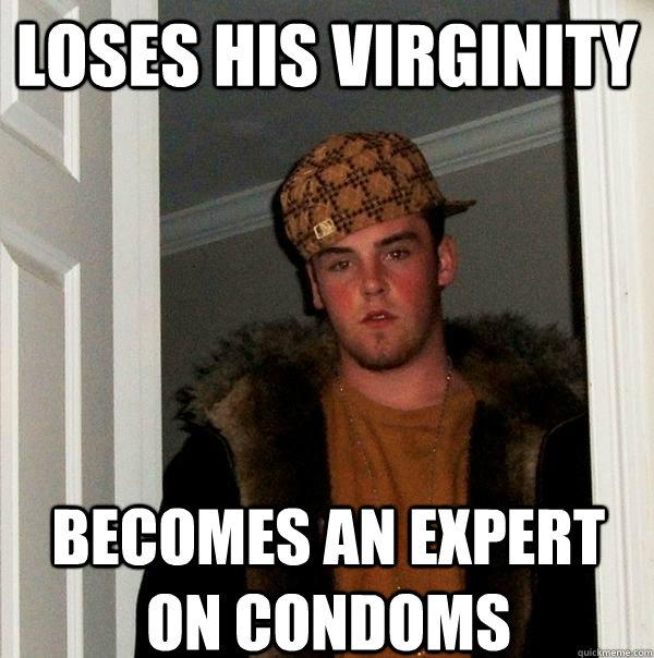 Losing virginity with condom