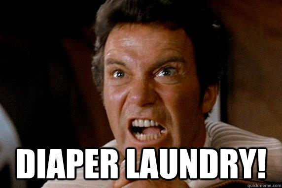DIAPER LAUNDRY!