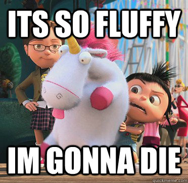 its so fluffy Im gonna die - its so fluffy Im gonna die  Despicable
