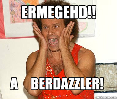 Ermegehd!! A     berdazzler!  Richard Simmons