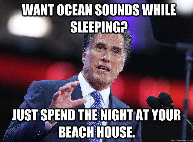 Want ocean sounds while sleeping? Just spend the night at your beach house.