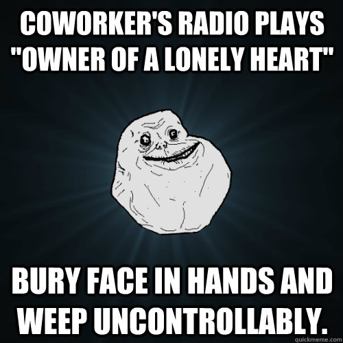Coworker's radio plays