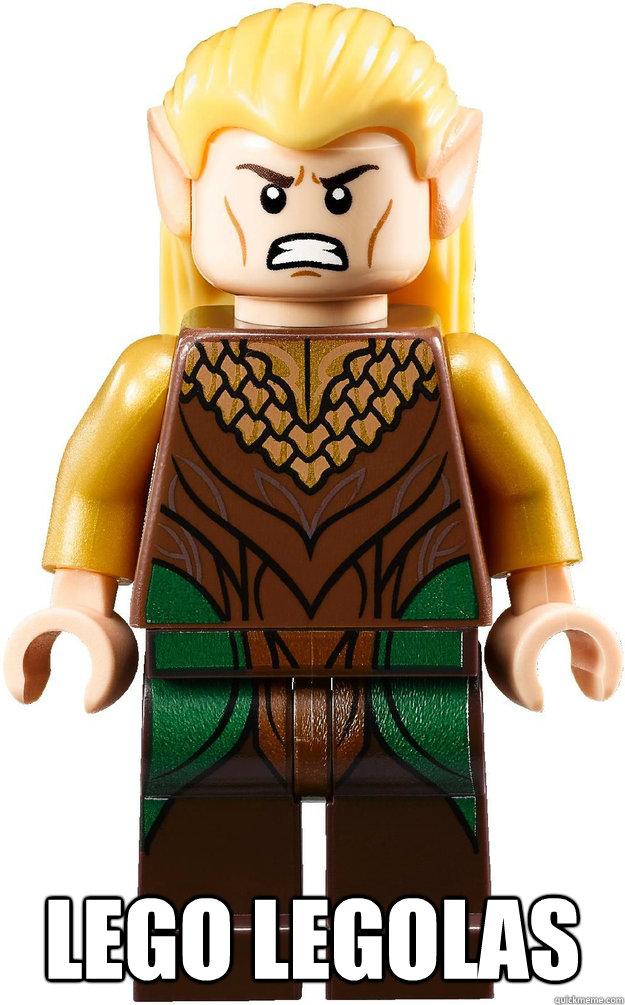 LEGO Legolas -  LEGO Legolas  Angry Legolas