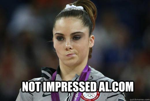 Not impressed AL.COM