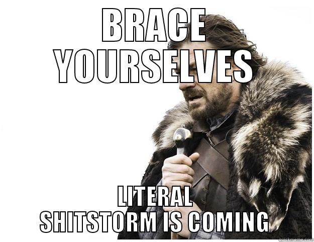 General Surgery On Call - BRACE YOURSELVES LITERAL SHITSTORM IS COMING Imminent Ned