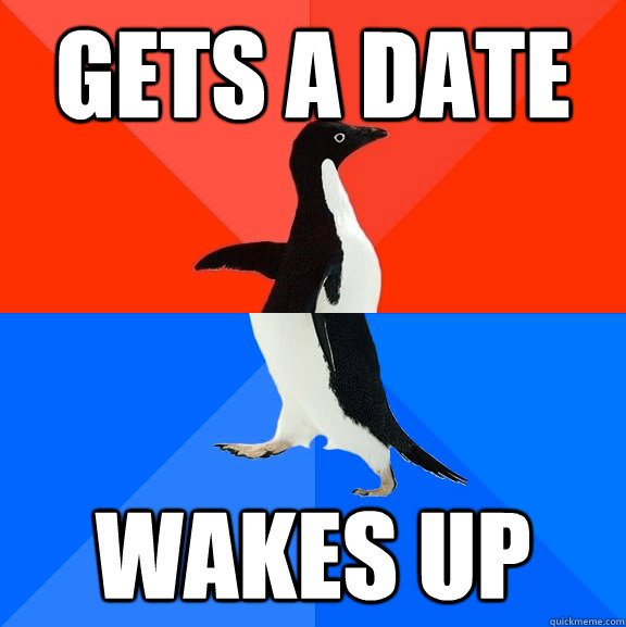 Gets a date Wakes up - Gets a date Wakes up  Misc