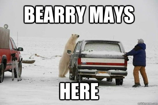 Bearry Mays Here - Bearry Mays Here  Bearry Mays Here
