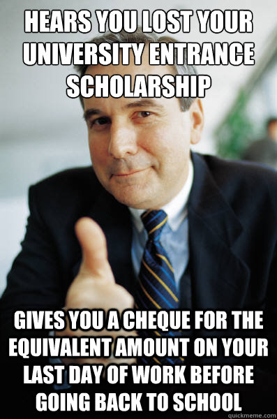 lost my scholarship How to keep your scholarship at college or how not to lose your scholarship.