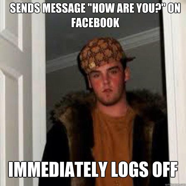 Sends message