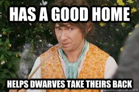 Has a good home helps dwarves take theirs back
