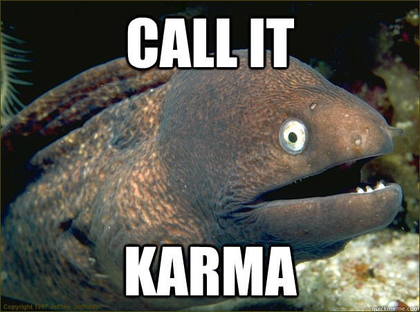 CALL It KARMA - CALL It KARMA  Bad Joke Eel