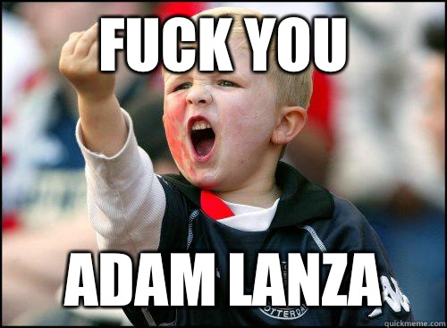 Fuck you Adam Lanza