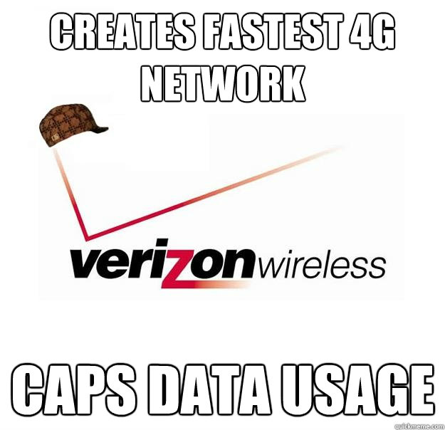 Creates fastest 4G network Caps data usage