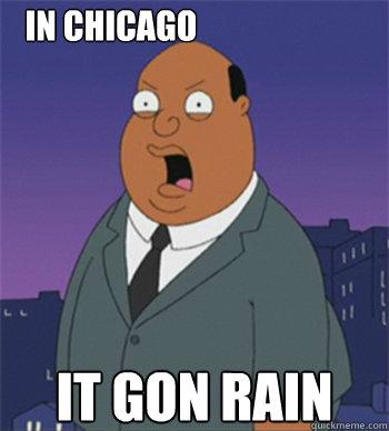It Gon Rain In Chicago  Ollie Williams