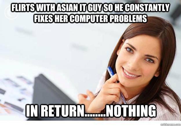 Asian guys flirtatious with guys