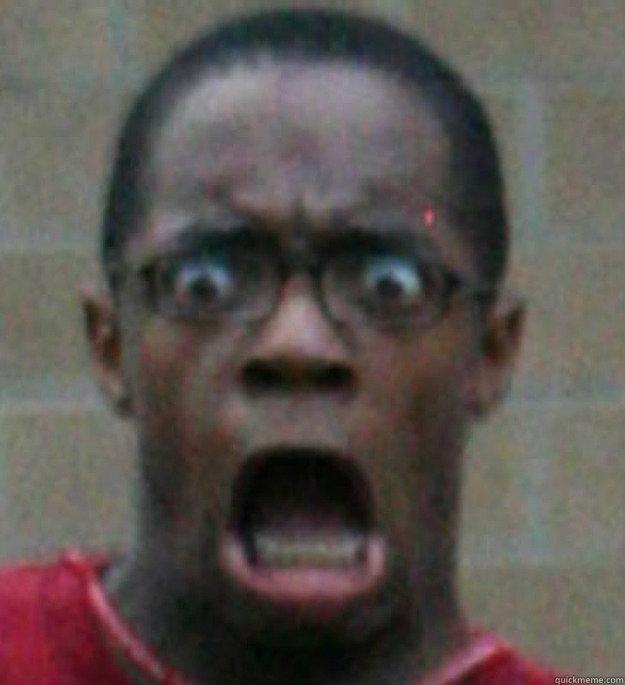 Surprised Black Man memes | quickmeme