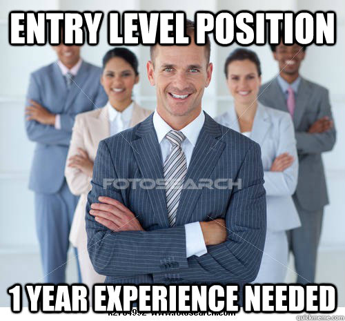 Entry level position 1 year experience needed  - Entry level position 1 year experience needed   Misc