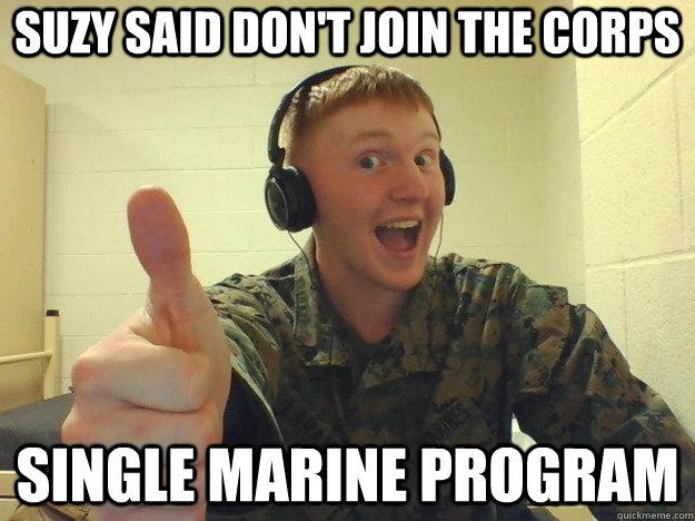 Dating a marine meme