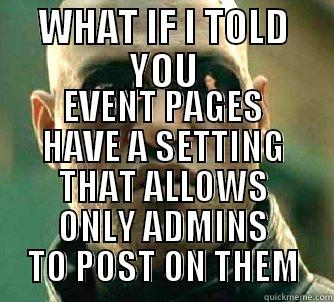 how to add your own address to a facebook event