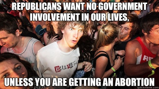 Getting involved with abortion?