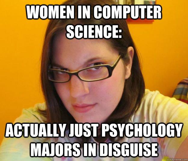 Psychology majors....?