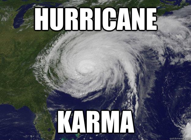 Hurricane Karma