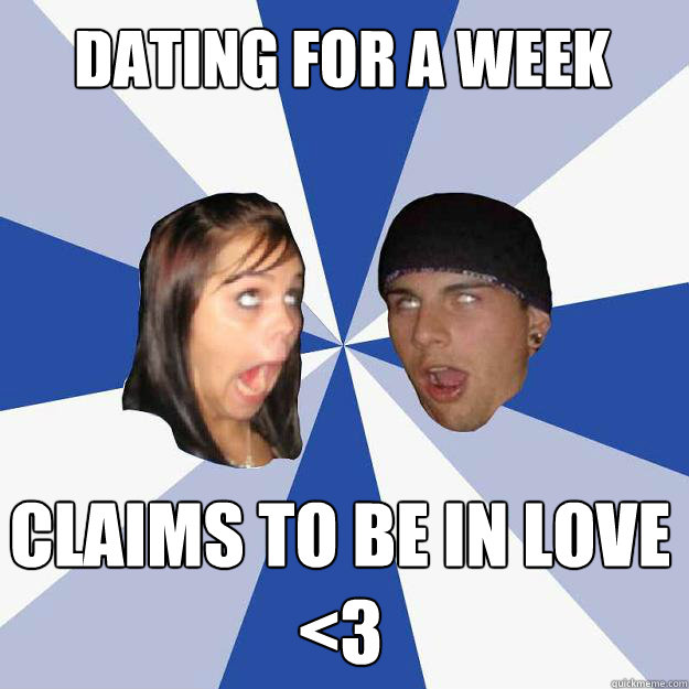 Dating someone for 2 weeks