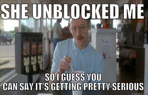 Funny Memes For Your Crush : My crush unblocked me but she didn't accept my friend request