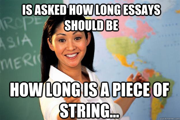 How Long Should A College Essay Be