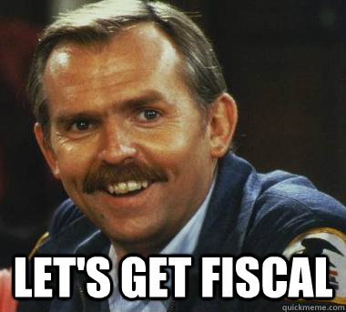 Hey baby let's get fiscal  Fiscal Cliff Clavin