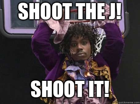 SHOOT THE J! SHOOT IT!
