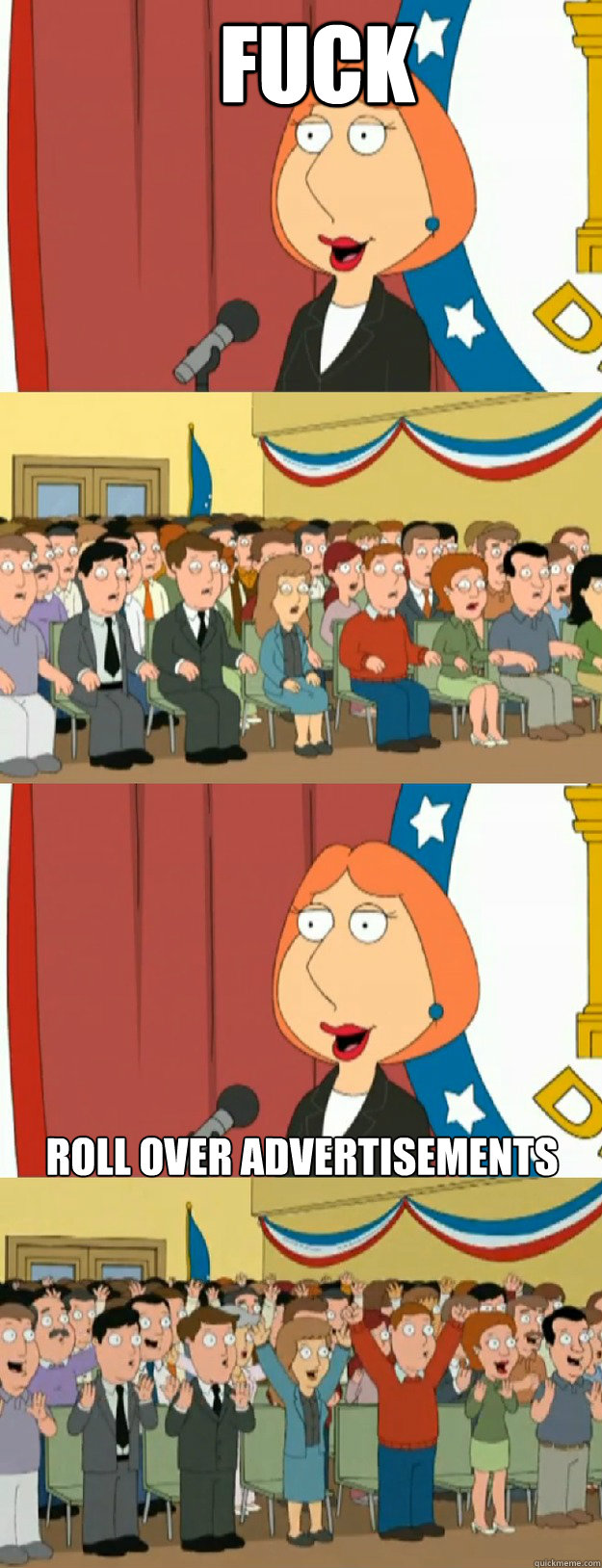 fuck roll over advertisements - fuck roll over advertisements  Lois Griffin