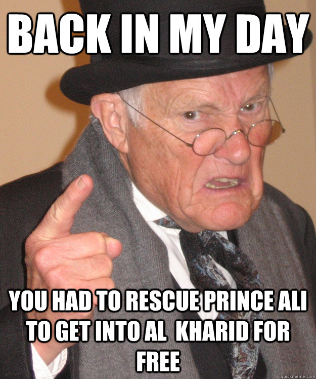 back in my day You had to rescue Prince Ali to get into Al  Kharid for free - back in my day You had to rescue Prince Ali to get into Al  Kharid for free  back in my day