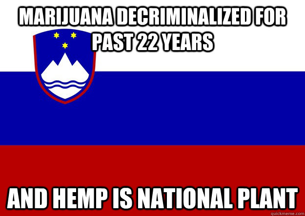 Marijuana decriminalized for past 22 years and hemp is national plant