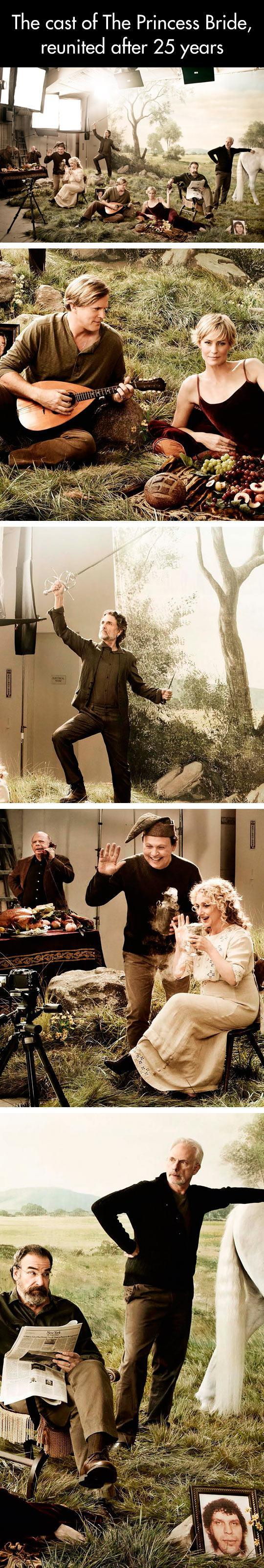 The Princess Bride Cast 25 Years Later...  -   Misc