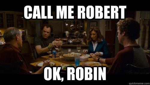 Call me robert OK, robin - Call me robert OK, robin  Misc