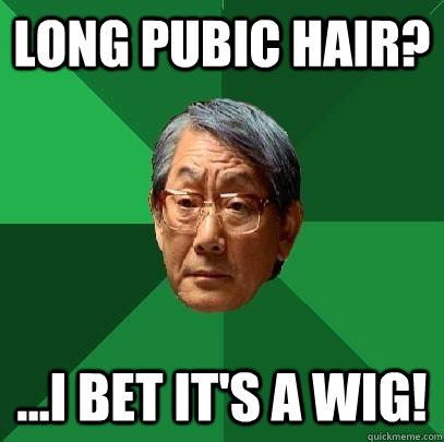 Asian hair pubic sorry, not