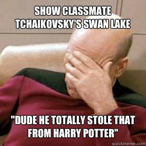 Show classmate TCHAIKOVSKY's swan lake