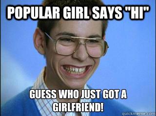 Popular girl says
