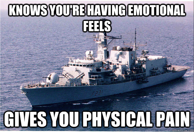 3eb209d79ef99ba8aa36072f5b59565c93b98dd6f3b83e050f24ba50bdd13021 knows you're having emotional feels gives you physical pain,Emotional Pain Memes