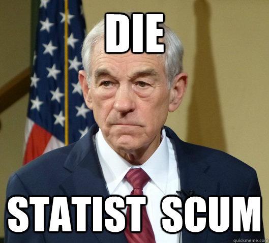 DIE  STATIST  SCUM