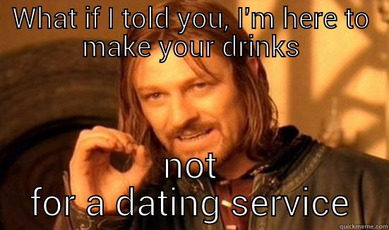 problems with dating a bartender