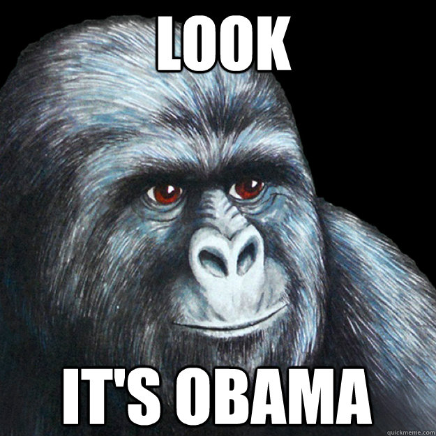 LOOK IT'S OBAMA