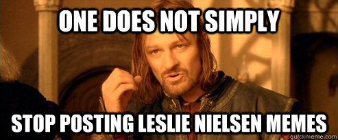 Leslie Nielsen Meme