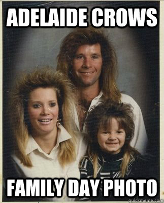 Adelaide Crows Family day photo - Adelaide Crows Family day photo  Mullet