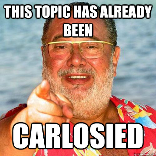 this topic has already been  carlosied - this topic has already been  carlosied  Misc