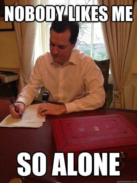Nobody likes me so alone - Nobody likes me so alone  Worried George