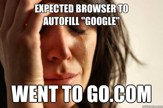 expected browser to  autofill