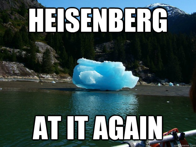 Heisenberg At it again - Heisenberg At it again  Misc