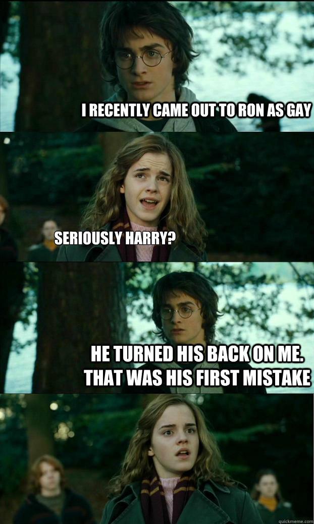 Harry ron gay